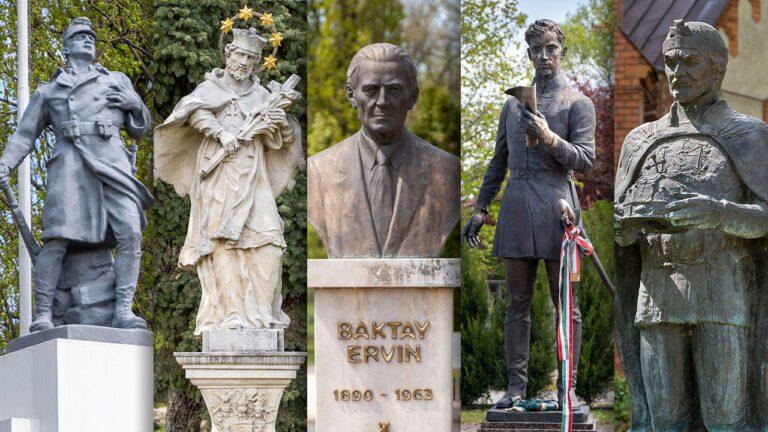 Örök tekintetek – Dunaharaszti szobrai
